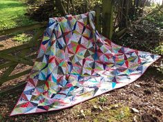 Dresden Star scraps quilt with 1008 pieces! Visit my blog for more details
