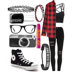 Unbenannt #29 by kirimaus on Polyvore featuring Mode, Converse, Tod's, Muse, Casetify, Accessorize, Dsquared2, Essie and Maybelline