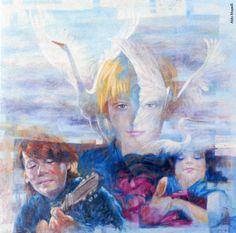 Aldo Mapelli, «Le nuvole» , olio su tela (cm 70x70), 2014 Aldo, Painting, Painting Art, Paintings, Painted Canvas, Drawings