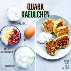 Quark Käulchen You love them all – but have you ever been hearty … – Rezepte Paleo Diet Plan, Keto Meal Plan, Calorie Intake, No Calorie Foods, Backpacking Food, Fiber Foods, Aioli, Different Recipes, Tofu