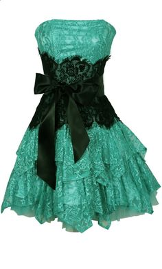 Strapless Bustier Contrast Lace and Crinoline Ruffle Prom Mini Dress Junior Plus Size | Prom Short Dresses