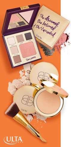 If you're a busy girl, you need some multi-tasking beauty secrets in your makeup bag. Tarte Double Duty Beauty's 2-in-1 formulas will keep you looking great on the go. And with names like The Classic Courage Palette & Confidence in a Compact, you'll be empowered to keep it going throughout your day. Exclusively at Ulta Beauty.