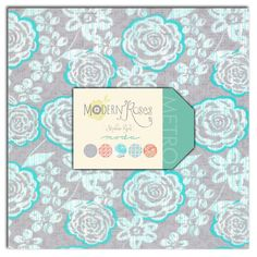 Modern Roses  Layer Cake by Stephanie Ryan for by LilyRoseQuilts, $32.00