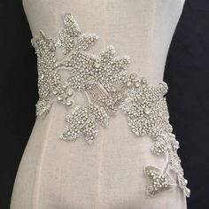 One Piece Dress, 1 Piece, Embroidery Applique, Beaded Embroidery, Wedding Motifs, Bridal Brooch Bouquet, Thing 1, Prom Dresses, Wedding Dresses