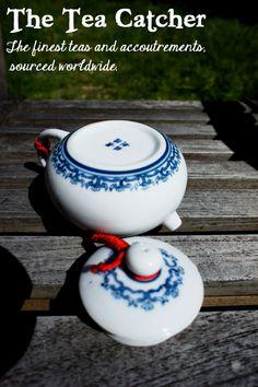Jingdezhen teapot Blue Flowers 170cc $25 approx..