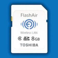 Scheda WiFi Toshiba FlashAir WLAN SD CARD (Wi-Fi Wireless LAN SDHC card)