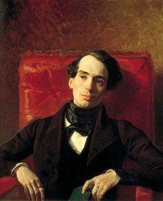 Karl Briullov  Portrait of writer Alexander Strugovschikov