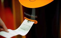 A French city has installed 8 print-on-demand short story dispensers. Your move, America.