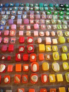 Anu Tuominen: Early Morning By The Sea (detail) Rainbow Food, Taste The Rainbow, Over The Rainbow, Please To Meet You, Rainbow Connection, Colorful Artwork, Textiles, Environmental Art, Art Plastique
