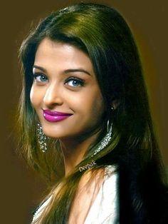 Actress Aishwarya Rai, Indian Bollywood Actress, Aishwarya Rai Bachchan, Beautiful Bollywood Actress, Most Beautiful Indian Actress, Indian Actresses, Brunette Beauty, Hair Beauty, Idda Van Munster