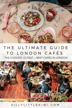 London, like most cities, is filled with cool cafés, cute interiors, and delicious brunch options. I've put together the ultimate guide to the best cafés in the British capital. London Cafe, London Food, Glasgow, Brighton, London City Guide, Cool Cafe, Things To Do In London, Best Places To Eat, London Travel