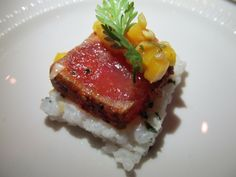 Aleppo Pepper Crusted Tuna from Catalyst