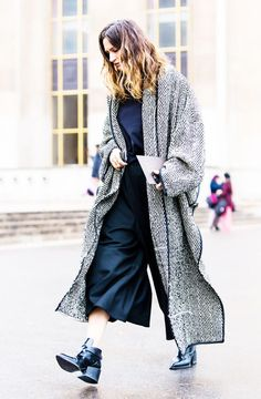 Wrap It Up: 10 Stylish Blanket Coats for Fall via @WhoWhatWearUK