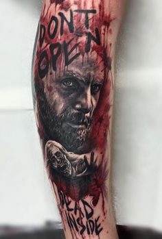 Killer Walking Dead tattoo! By Ash Lewis