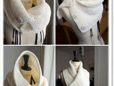 Modèle tricot gratuit : Le Snood Caméléon - par Mes favoris Tricot-Crochet