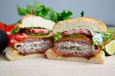 Bacon Wrapped Jalapeno Popper Burgers...these are intense