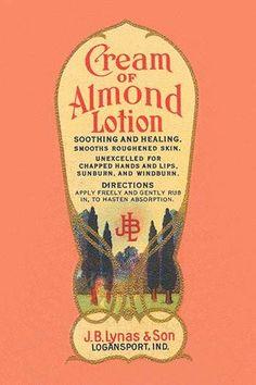 Cream of Almond Lotion