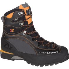 Black/Orange Garmont Tower LX GTX Backpacking Boot - Men's,Quality is the best,the price is the lowest! Backpacking Boots, Hiking Gear, Lumberjack Boots, Leather Men, Leather Boots, Caterpillar Boots, Tactical Wear, Burberry Men, Gucci Men