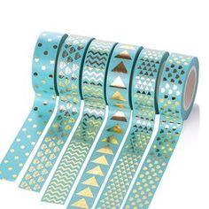 I absolutely love teal! https://www.etsy.com/listing/525237179/beautiful-blue-washi-tape-gold-foil?ref=shop_home_active_12