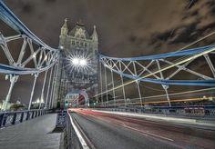 London light trails by odin's_raven, via Flickr