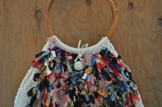 Vintage Neiman Marcus Off White Raffia and by GoldRushDixieDust