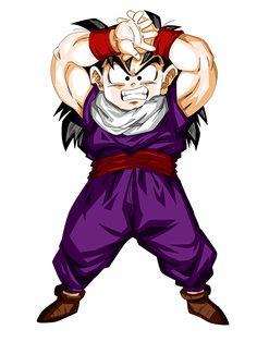 Son Gohan (孫 悟飯), o Son Gohanda en su tiempo en España, o simplemente Gohan en Latinoamérica, es uno de los personajes principales de las Sagas de Dragon Ball Z, Dragon Ball Super y Dragon Ball GT. Es un mestizo entre Saiyajin y humano terrícola. Es el primer hijo de Son Goku y Chi-Chi, hermano mayor de Son Goten, esposo de Videl y padre de Pan. La apariencia de Gohan cambia drásticamente a través de los acontecimientos de Dragon Ball Z, debido al hecho de que la historia comienza con él... Drawing Wallpaper, Cute Anime Wallpaper, Hd Wallpaper, Dragon Ball Gt, Yu Yu Hakusho Anime, Goku Pics, Kid Goku, Cartoon Tattoos, Chibi Characters