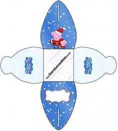 Caixa Peppa Pig Natal