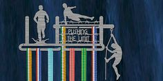 Great display for those obstacle course medals Race Medal Displays, Spartan Race Training, Running Medals, Fit Quotes, Plasma, Marathon Runners, Obstacle Course, Jewelry Crafts, Hanger