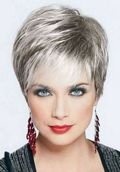 Pixie Hairstyles for Over 50 Ladies