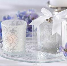 Recuerdos decorativos con velas para tu boda [Galeria]