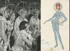 "Stars aligned when this astronaut costume was designed. Frank Spencer created ""Star Bright"" for the #Rockettes in 1965. #WardrobeWednesday"