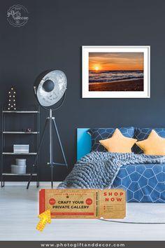 Sunset in the Ocean - Fine Art Photography - Photo Gift Decor Decoration, Art Decor, Diy Home Decor, Decor Ideas, Gift Ideas, Man Room, Girl Room, Rental Decorating, Apartments Decorating