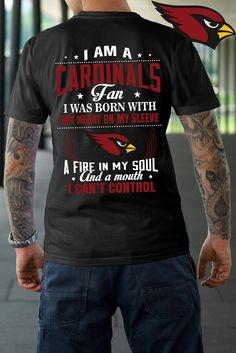 Arizona Cardinals 'Cardinals Fan' @ArizonaLadyBird #BirdGang #AZLadyBirds