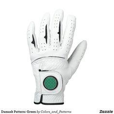 Damask Pattern: Green Golf Glove Gay Pride, Sanftes Yoga, Vintage Golf Clubs, Golf Ball Crafts, Golf 2, Play Golf, Disc Golf, Best Golf Clubs, Hand Gloves