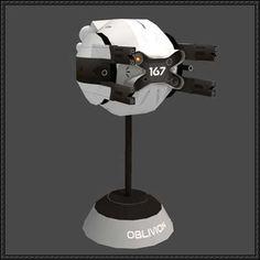 Oblivion - Drone Free Paper Model Download - http://www.papercraftsquare.com/oblivion-drone-free-paper-model-download.html