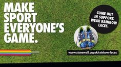 The football community, including major governing bodies, will join to show their backing for the Rainbow Laces campaign. Weekend Football, Rainbow Laces, Daily News, Campaign, Sports, How To Make, Hs Sports, Sport
