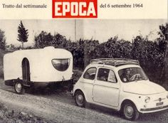 Les joies du camping et du caravaning Camping Gaz, Retro Camping, Cool Campers, Happy Campers, Vintage Trailers, Vintage Cars, Fiat 500 Car, Vintage Italian Posters, Teardrop Camper Trailer
