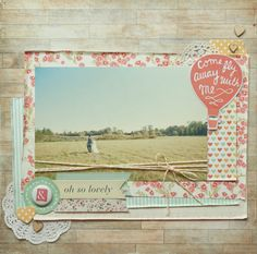 Love the twine around the 8x10 picture... must try Mei Li Paperie's Blog- Asia's and Hong Kongs newest online scrapbooking and cardmaking resource - Mei Li Paperie