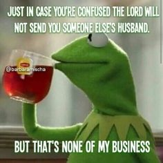 This is true.... He, (the good lord) will bless you with misery.
