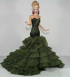 APHRODAI Fashion Royalty Designer Silkstone Barbie Model Gown Bride Wedding in Dolls & Bears, Dolls, By Brand, Company, Character | eBay