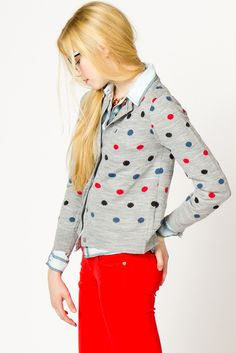 a dot cardi i can get into.
