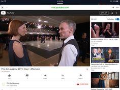 Youtube Open, Russian Ballet, Open App, Lausanne