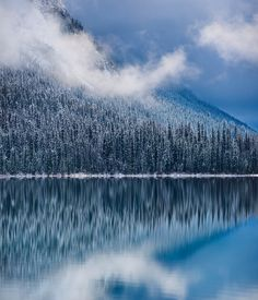 Emerald Lake snow (Yoho, BC) by Catalin Mitrache / 500px