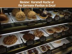 A look at Karamell Kuche found in the Germany Pavilion at #Epcot