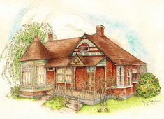 Learn How to Draw and Paint Brick With This FREE Tutorial