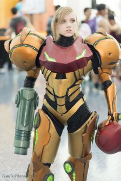 Samus (Metroid) | Anime Expo 2016 << Holy wow