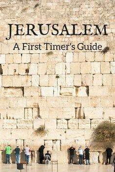 Things to do in Jerusalem for first time visitors - where to go, what to see, where to eat and day trips from #Jerusalem #Israel #HolyLand