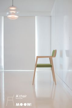 A'chair   new chair from MO-OW design      http://mo-ow.com/MoProducts_Achair.html  #chair #design #interiors