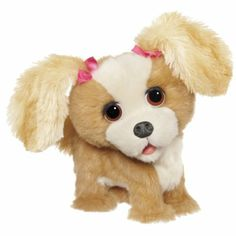 Amazon.com: Furreal Friends Bouncy My Happy-To-See-Me Pup Figure: Toys & Games