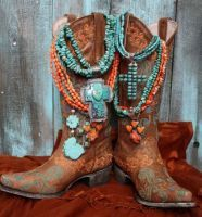"Love the Necklaces!! :O) ""Old Mexico"" by Lane boots, if you don't own any Lane's you should !~)"